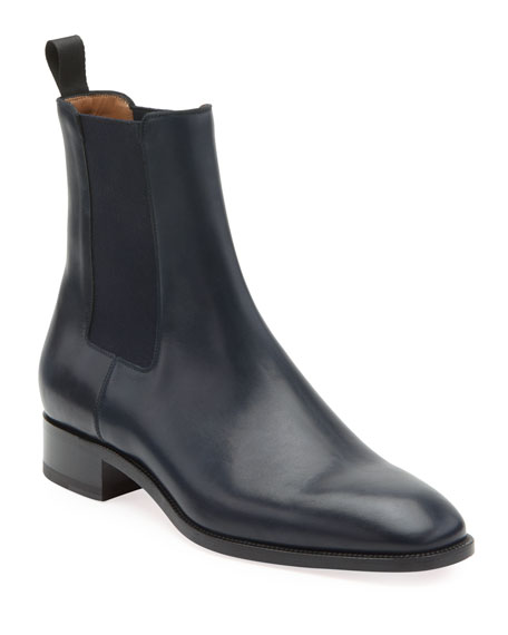 Christian Louboutin Men's Samson Leather Chelsea Boot