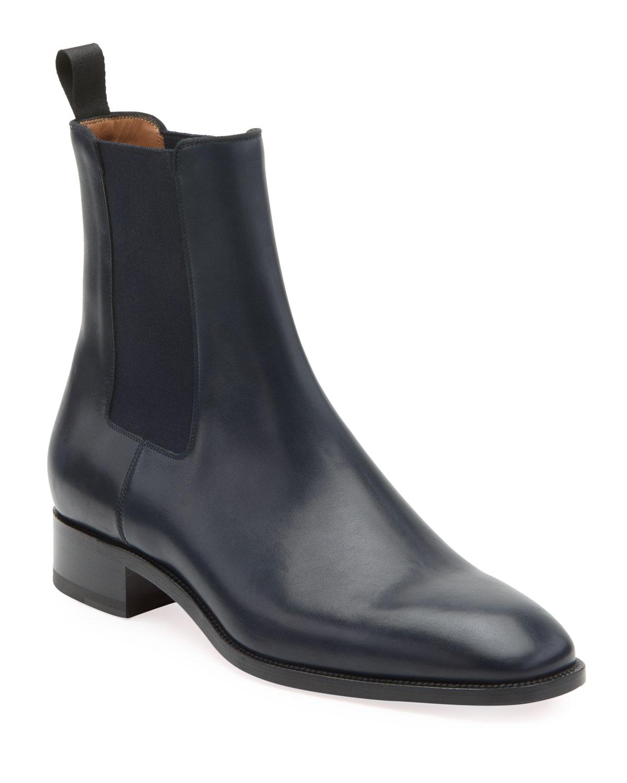 48e6aced863 Men's Samson Leather Chelsea Boot