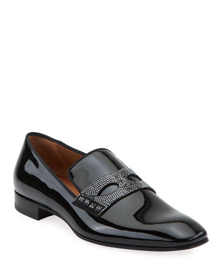 Christian Louboutin Men's Magician Patent Leather Loafers
