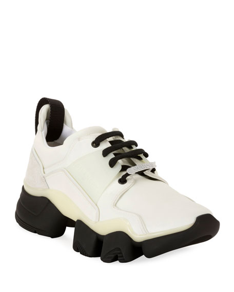 Givenchy Men's Jaw Glow-In-The-Dark Chunky Sneakers