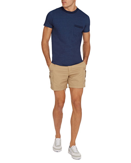 Orlebar Brown Men's Sammy Crewneck Pocket T-Shirt