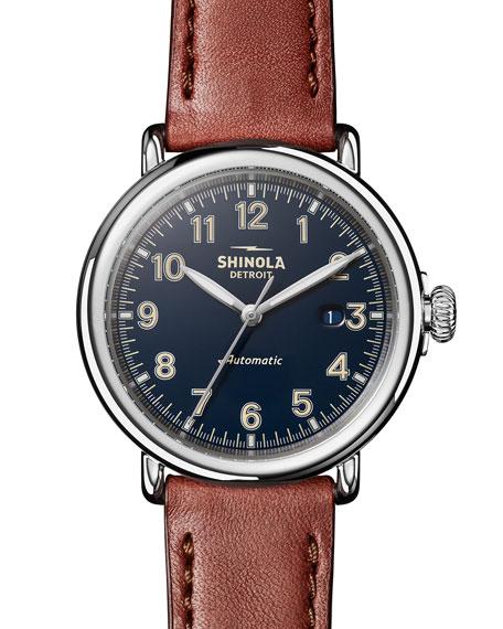 Shinola Watches Men's 45mm Runwell Automatic Watch