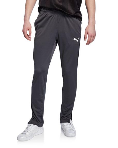 Puma Men's Speed Side Panel Zipper Pants, Asphalt