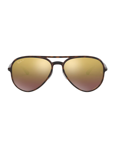 Ray-Ban Men's Nylon Aviator Sunglasses
