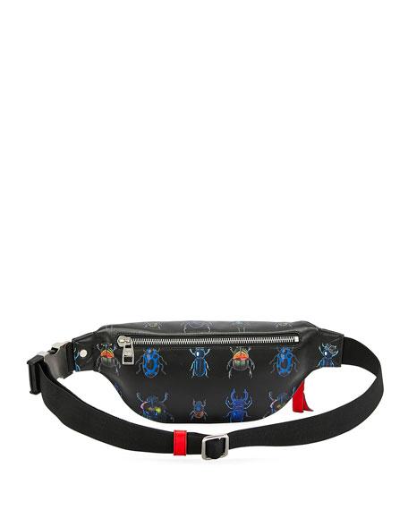 Alexander McQueen Men's Harness Multicolor Beetle Belt Bag/Fanny Pack