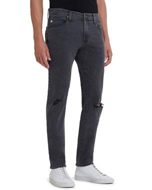61cd3ec6 AG Adriano Goldschmied Men's Tellis Slim Ripped Jeans