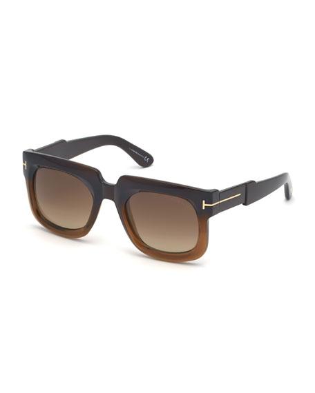 TOM FORD Men's Christian Two-Tone Acetate Sunglasses