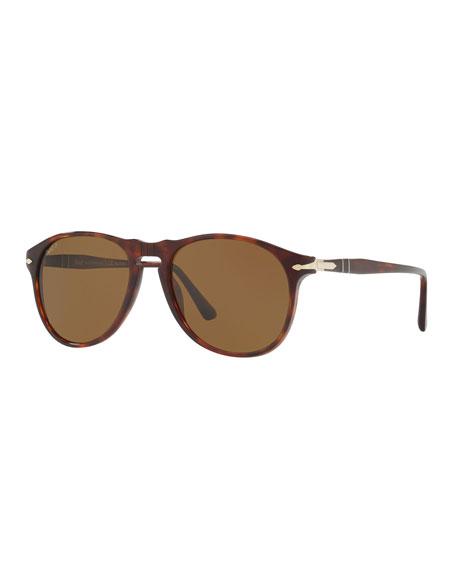 Persol Men's Aviator Patterned Sunglasses