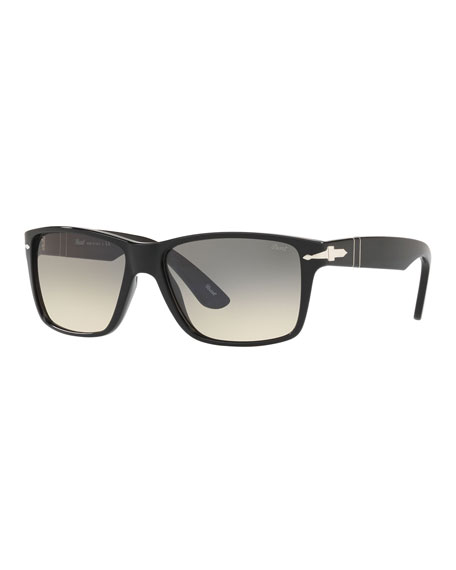 Persol Men's Rectangle Gradient Sunglasses