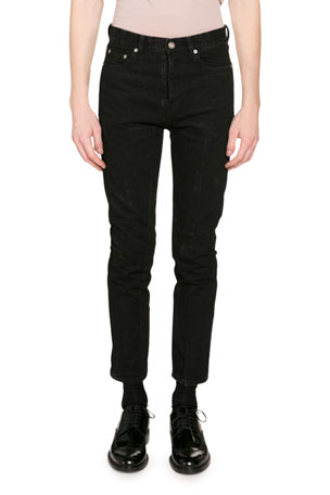 Saint Laurent Men's Straight-Leg Jeans