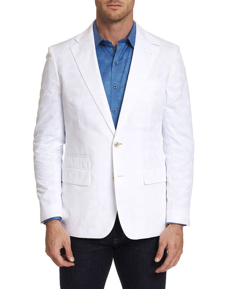 Robert Graham Men's Moris Cotton Two-Button Jacket
