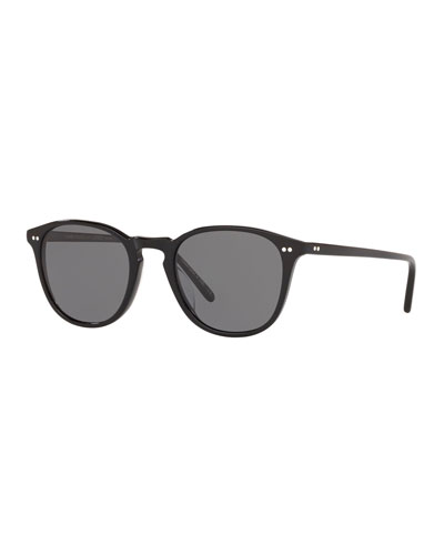 Men's Forman L.A. Polarized Round Acetate Sunglasses