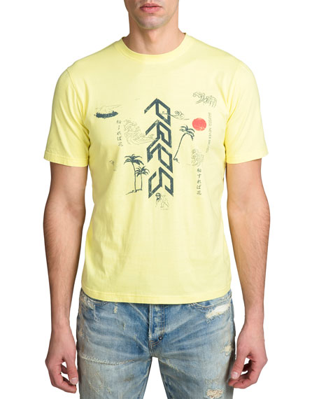 Image 1 of 2: Men's Short-Sleeve Vintage Japan Graphic T-Shirt