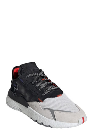 Adidas Men's Nite Jogger Graphic Trainer Sneakers