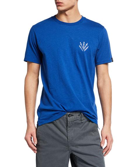 Rag & Bone Men's Crewneck Short-Sleeve Dagger T-Shirt