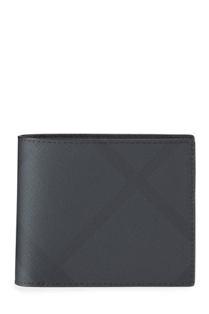 Burberry Men's Ronan London Check Wallet