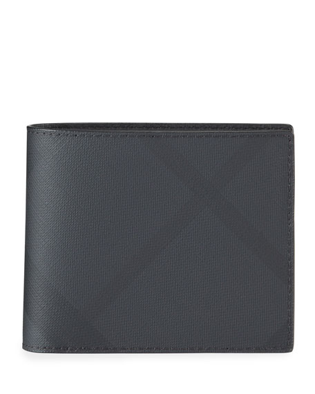Image 1 of 2: Men's Ronan London Check Wallet