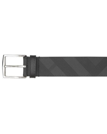 Burberry Men's Signature Check Belt