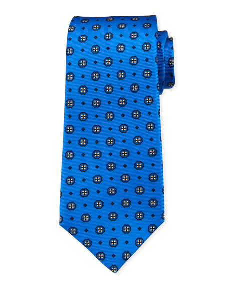 Kiton Men's Pinwheel Silk Tie