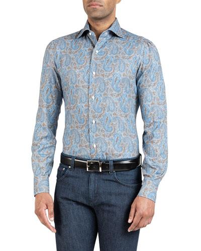 Men's Paisley Sport Shirt