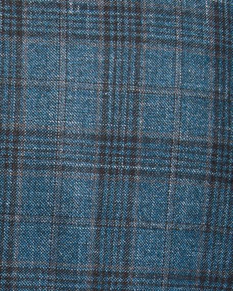 Isaia Men's Plaid Wool-Blend Sport Coat