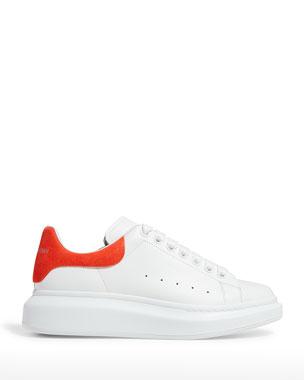 323d6c3cd Alexander McQueen Men s Oversized Leather Low-Top Sneakers