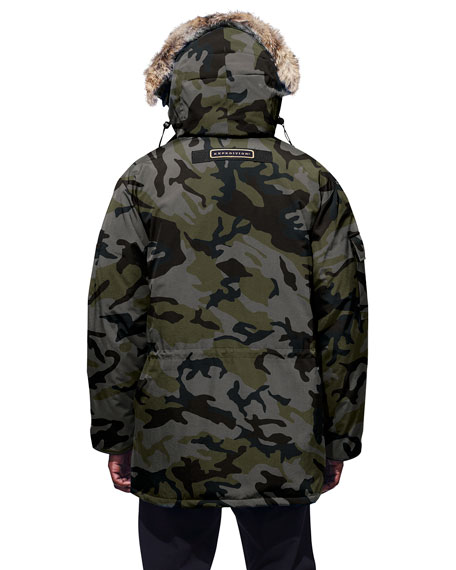 Canada Goose Men's Expedition Camo-Pattern Parka