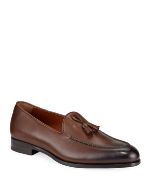 c8d1f962 Ermenegildo Zegna Shoes : Loafers & Boots at Neiman Marcus