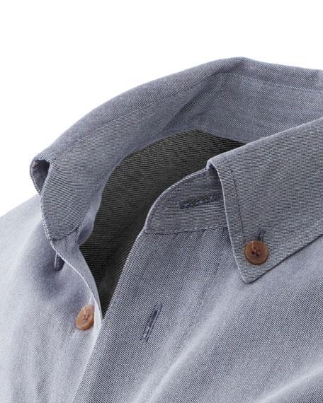 Fisher + Baker Men's Camden Wool-Blend Sport Shirt