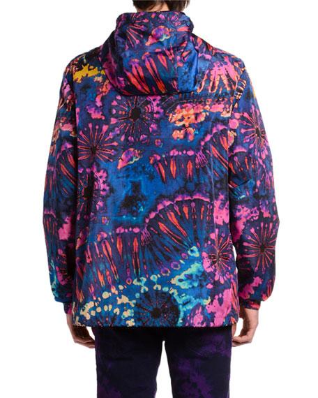 Dsquared2 Men's Tie-Dye Wind Jacket