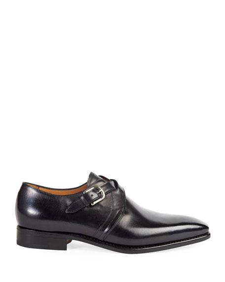 Paul Stuart Men's Galante Cross-Strap Loafers