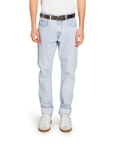 Men's Relaxed Straight-Leg Jeans