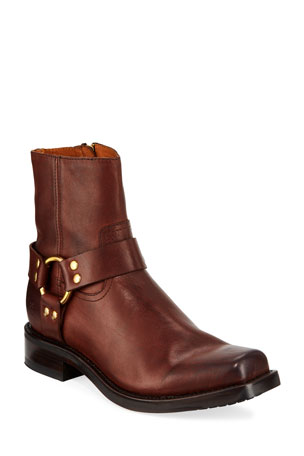 Frye Men's Conway Leather Harness Boots