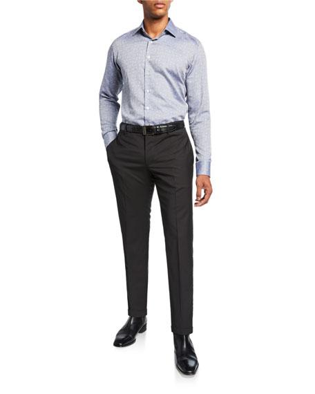 Etro Men's Wool Tuxedo Pants