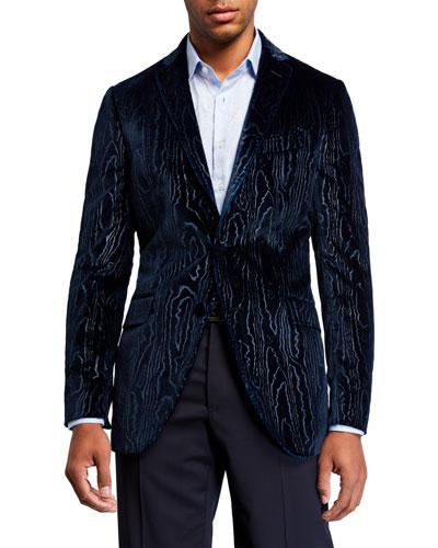 Men's Velvet Bark Two-Button Jacket