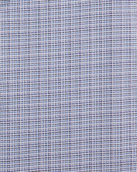 Etro Men's Woven Check Dress Shirt