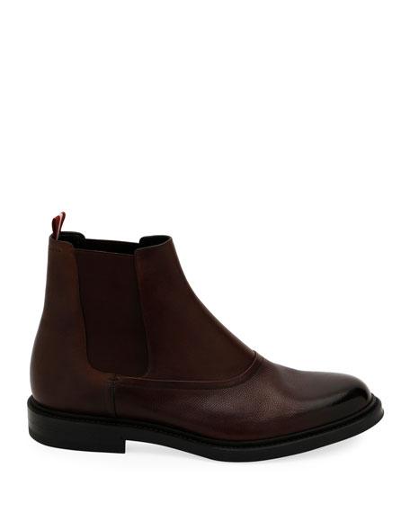 Bally Men's Nikora Leather Chelsea Boots
