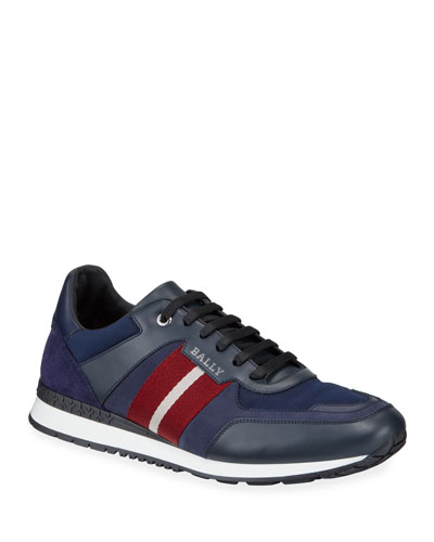 Men's Aseo Multicolor Trainspotting-Stripe Sneakers