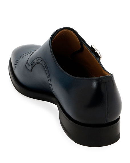 Bally Men's Scardino Leather Double-Monk Loafers