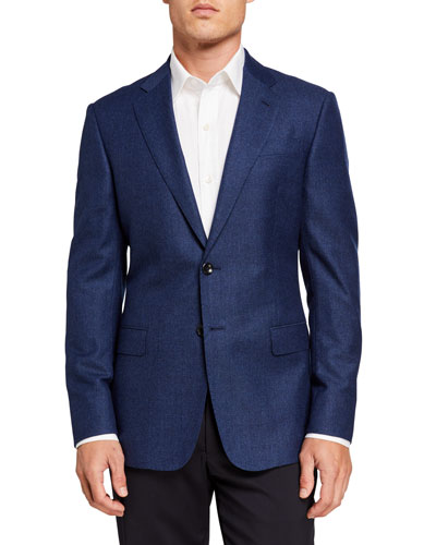 Men's Micro Two-Button Jacket