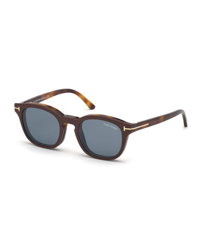 Men's Double-Layer Square Sunglasses