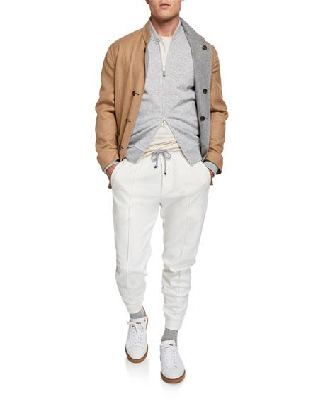 Brunello Cucinelli Men's Drawstring Spa Sweatpants