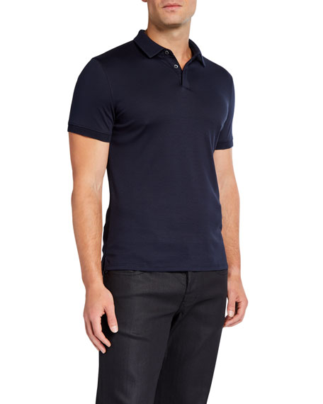 Emporio Armani Men's Basic Cotton Polo Shirt