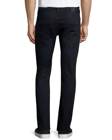 G-Star 3100 Slim Aged Denim Jeans, Indigo