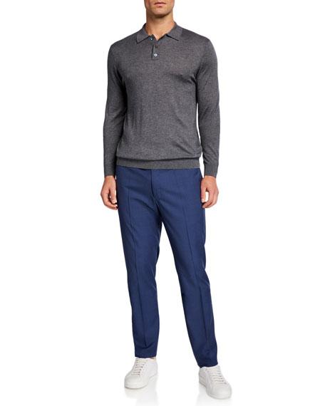 Incotex Men's Super-Light Tech-Wool Pants