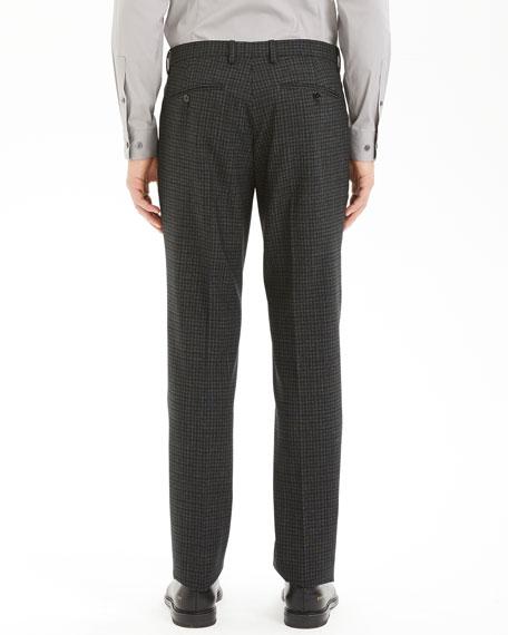 Theory Men's Thurlow-Print Mayer Check Suit Pants