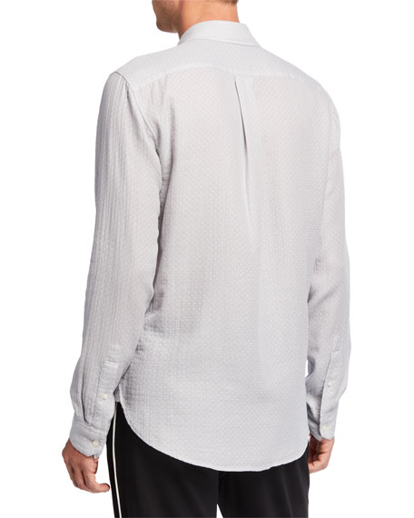 Image 2 of 3: Men's Dobby Double-Face Sport Shirt