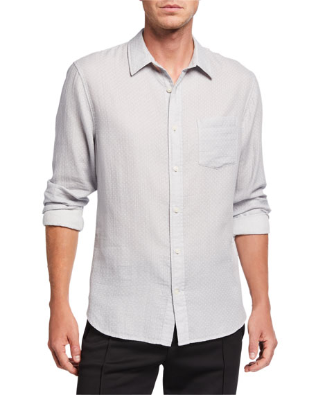 Image 3 of 3: Men's Dobby Double-Face Sport Shirt