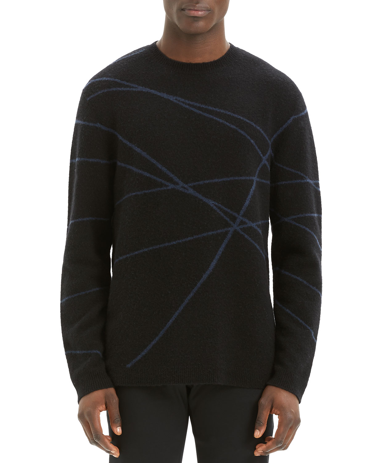 Theory Men's Aris Wizard Crewneck Sweater