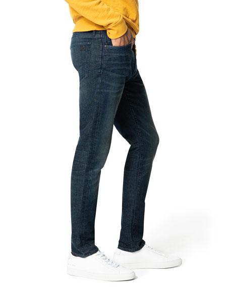 Joe's Jeans Men's Asher Whiskered Dark-Wash Jeans